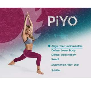 Piyo Deluxe Edition Workout