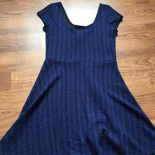 BNWT Blue Dress (M)