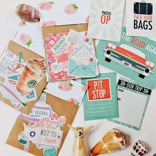 Mini Cards, Sb Stickers And Vintage Stickers Grab All