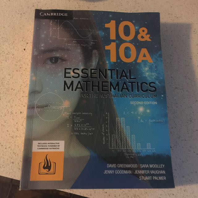 10 & 10A Essential Mathematics Second Edition
