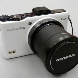 Olympus XZ-1 10 MP Digital Camera with f1.8 Lens and 3-inch OLED Monitor w lens adaptor