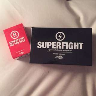 Superfight Card Game With R-rated Expansion Pack