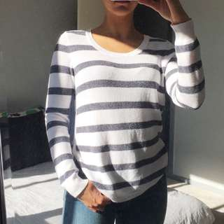 JUST JEANS stripe Top