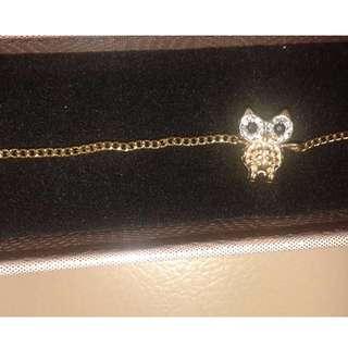 Adorable Vintage OWL Bracelet