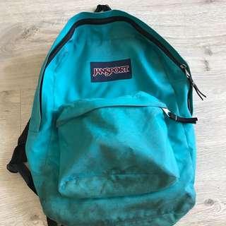 Blue Jansport Backpack