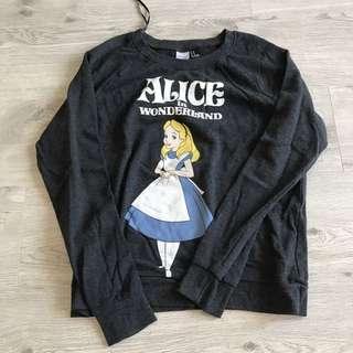 Forever 21 Alice In Wonderland Pullover