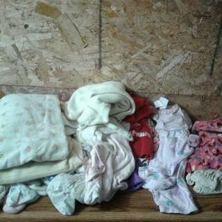 0-12 Baby Girl Clothes