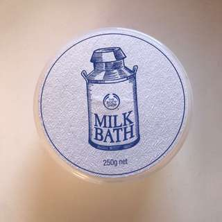 BODY SHOP BATH MILK