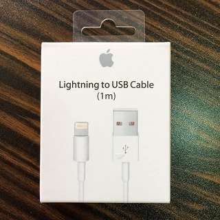 Apple Lightning To USB Cable Charger (1m)