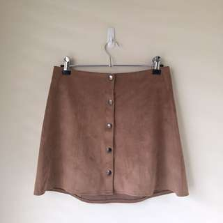 KENDALL+KYLIE SUEDE SKIRT 💖
