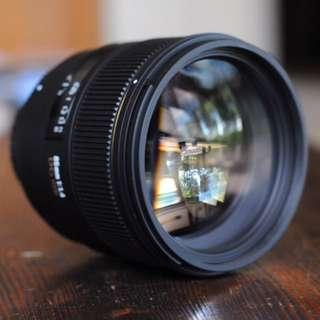 Sigma 85mm 1.4 (非art)for Sony (canon Nikon 不適用)
