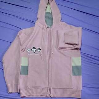 BETTY 粉紅針織外套