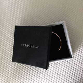 The Peach Box Gold Bracelet