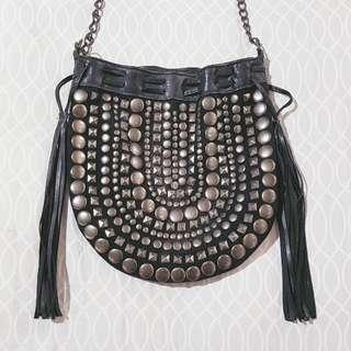 Studded Boho Body Bag