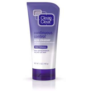 Clean & Clear Continues Control Acne Cleanser