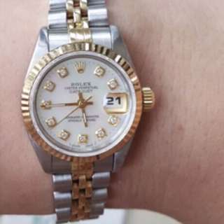 Rolex Datejust 26mm Mother Of Pearl