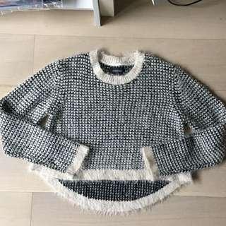 Mink Pink Crop Sweater
