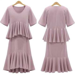 💕New Arrival U.S. Style Frill Layer Dress💕