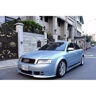 【FB搜尋 伍 優質好車】2004年 a4 1.8t