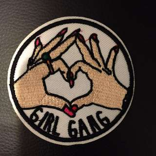 Girl Gang Patches Iron On
