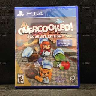 Restock Brand New PS4 Game: Overcooked! Gourmet Edition (R2)