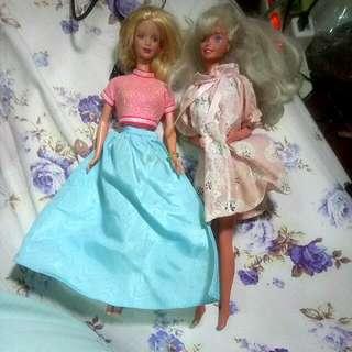 正版 芭比娃娃買一送一 #玩具交換玩