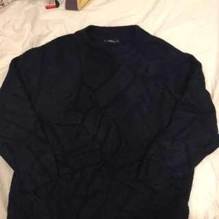 Zara Navy Blue Knitwear