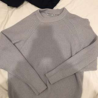 Lilac Knitwear From Pull&Bear