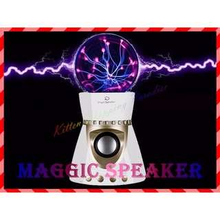 🚚 現貨 魔法球 喇叭 魔幻喇叭 靜電球 藍芽 藍牙 充電式 支援 AUX TF卡 MP3 USB 音箱