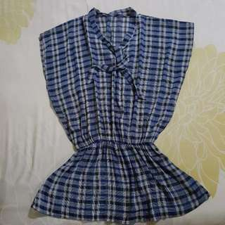 Blue Checkered Outer