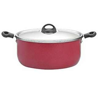 Premier Non Stick Lotus Leaf Stew Pot with Stainless Steel Lid (sleeved wrapped)