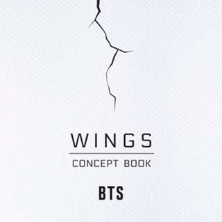 BTS WINGS Concept Book (KPOP)