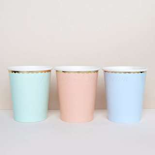 Pastel Party Cups (Set Of 8)