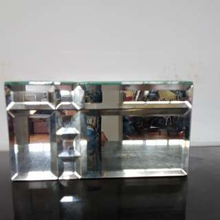 Diamond Faceted Box