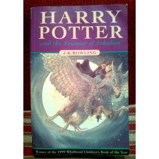 Novel Import: Harry Potter and the Prisoner of Azkaban