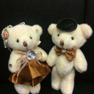 婚禮小物 禮服 小熊 姐妹禮 探訪禮 結婚小物 捧花禮