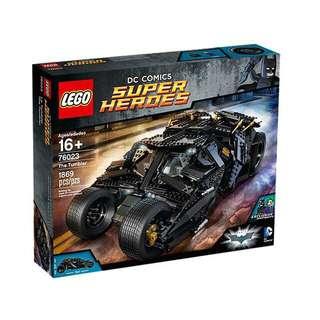 全新 樂高 LEGO 76023 蝙蝠俠 Super Heros The Tumbler 蝙蝠車