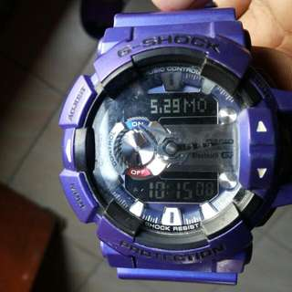 Gshock for sale. Rush! - Model No: GBA400-2A - G'Mix Bluetooth  - Purple Blue - With box - 100% guarantee original - 1monthold