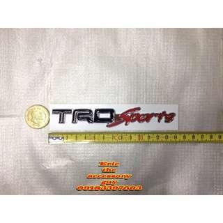 TRD sports rear emblem
