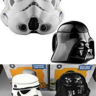 Mug Star Wars 3D Gelas Keramik Starwars Koleksi Aksesoris Film Fiksi Peralatan Makan Dapur Rumah Tangga Hadiah Souvenir Animasi Keren