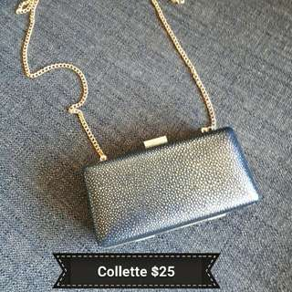 Collette Clutch Bag