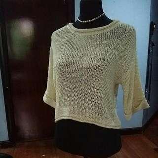 Forever 21 Cream Sweater