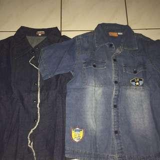 Denim Shirt  @ 25rb