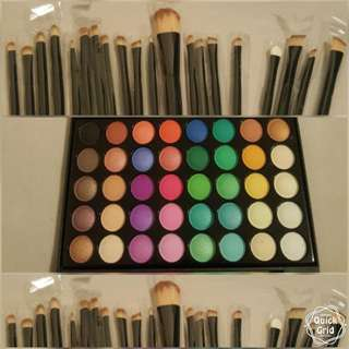 20pcs/40 Eye Colour Shadows Palette