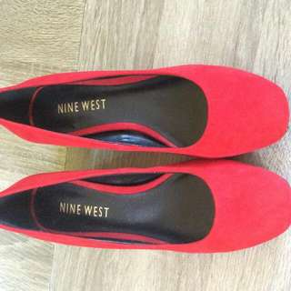 Nine West Red Shoes (Velvet)