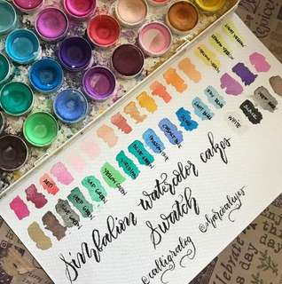 Simbalion 18 colours Watercolor Cakes