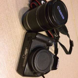 Canon EOS 500D and EFS 55-250 Lens
