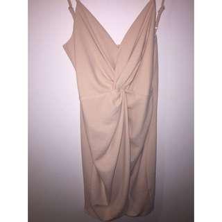 Blush coloured Dress By Ava