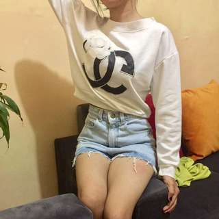 sweter chanel