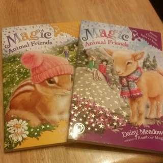 2 X Magic Animal Friends Brand New Books